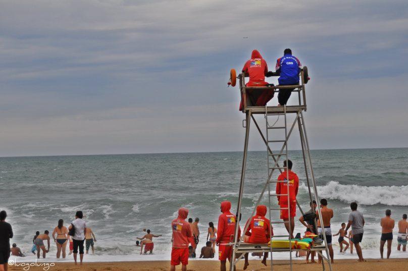 Bagnini a Biarritz