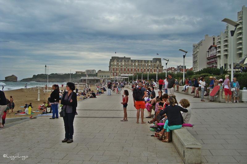 foto con raffigurata Grande Plage _Biarritz