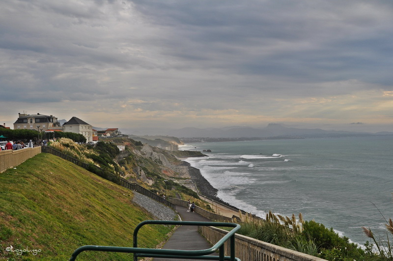 foto con raffigurato panoramadi Beaurivage_ Biarritz