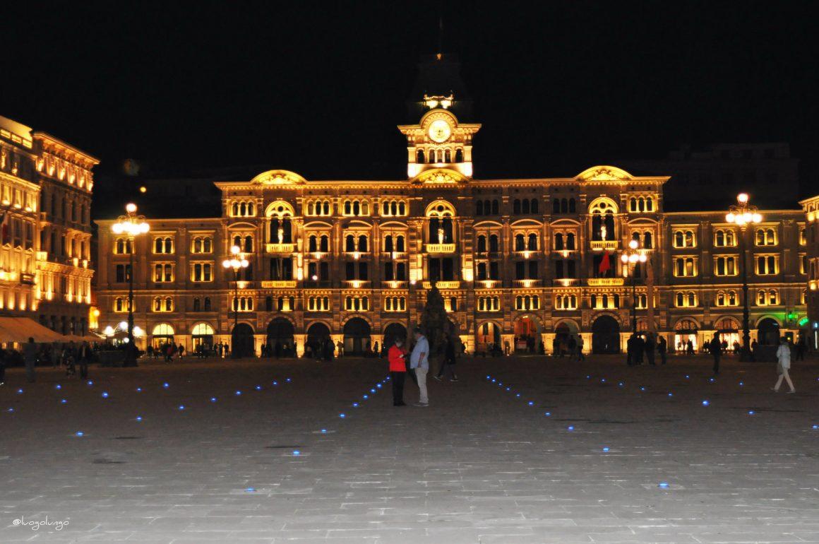 Trieste passeggiata sulle Rive