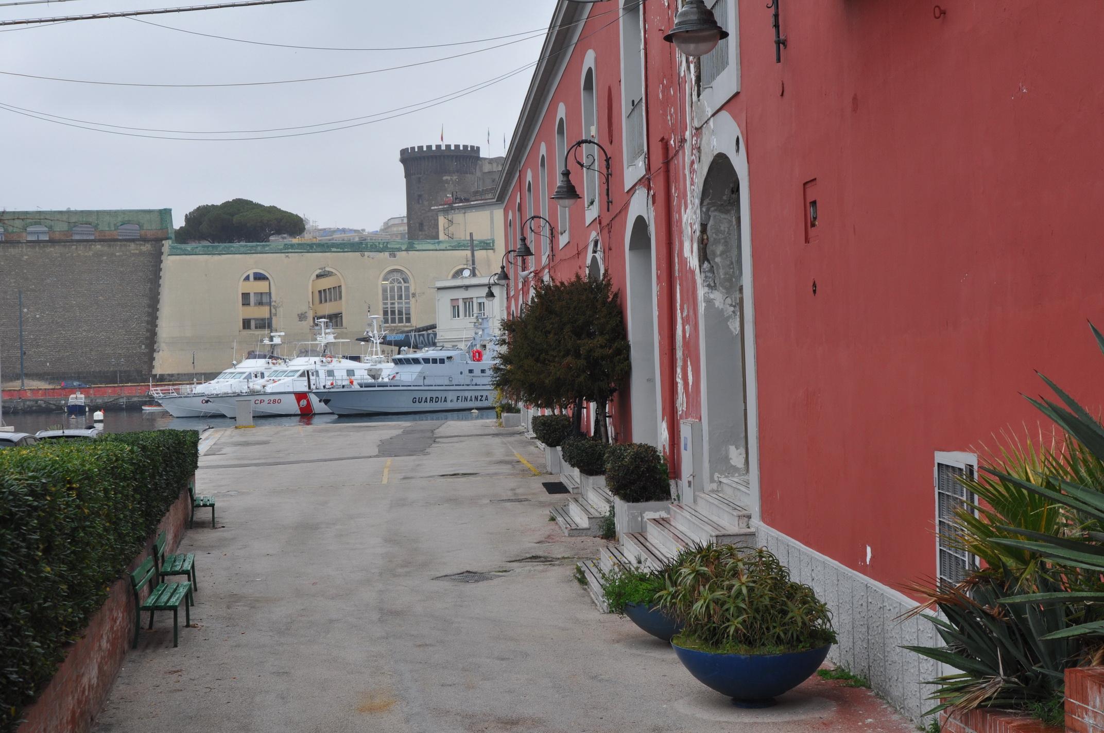 Dettaglio Base Marina Militare Napoli
