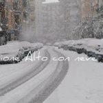 Rione Alto sotto la neve