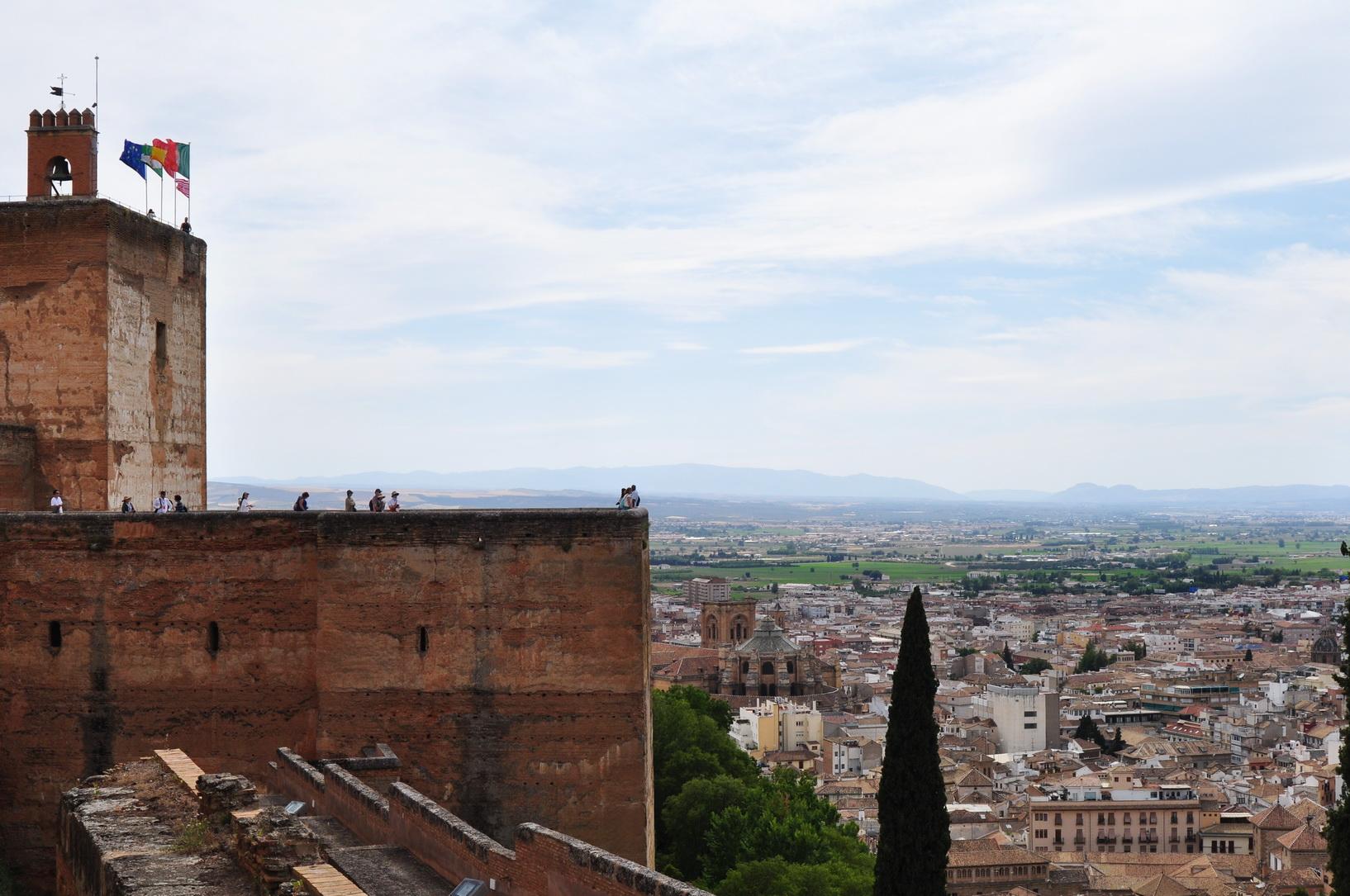 panorama Alhambra luogolungo