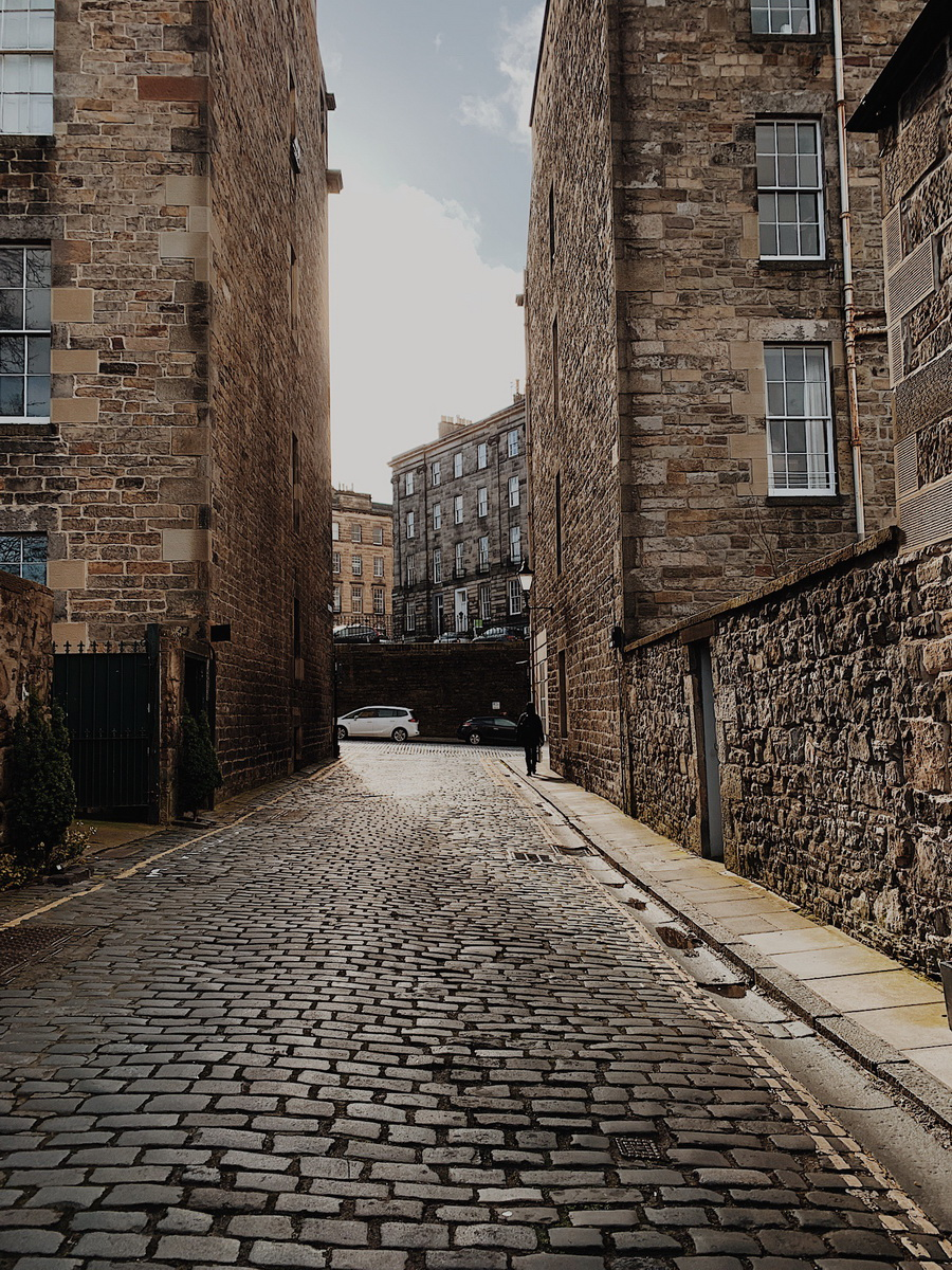 Circus lane Edimburgo