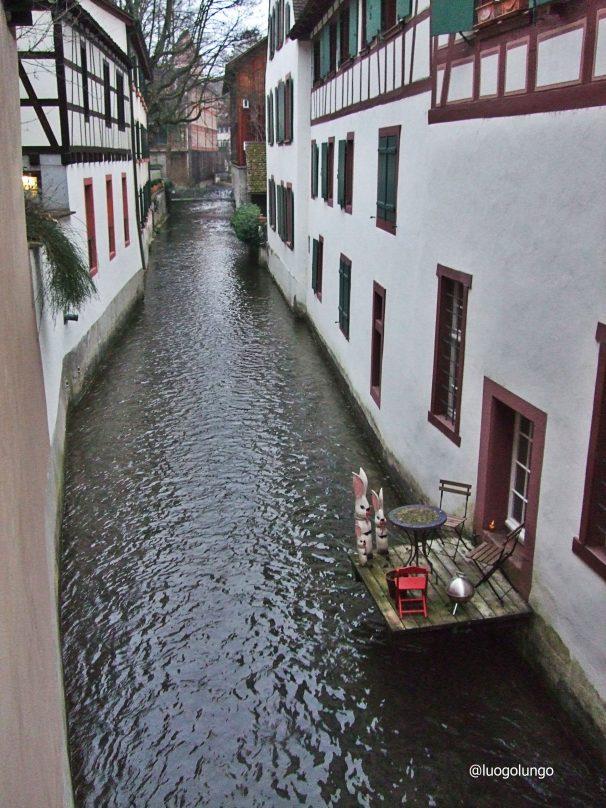 Il quartiere di St.Basilea Alban-Tal è l'antico nucleo 1
