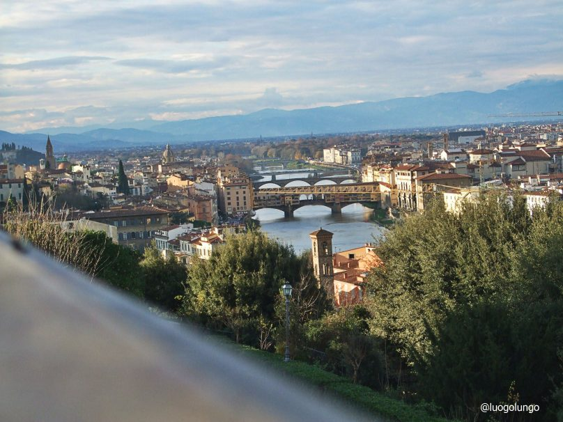 Panorama  di Firenze da Piazzale Michelangelo