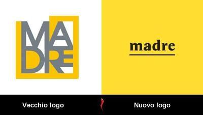 Museo Madre Logo prima e dopo
